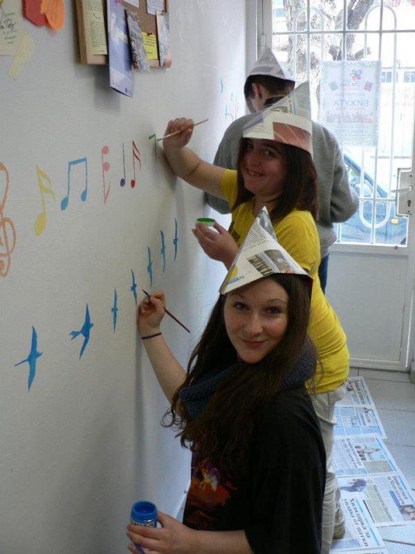 Украсяване на офиса на Сдружение ЗА ТЕБ