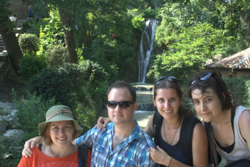 Iliana, Robert, Elina and Cristina in Balchik