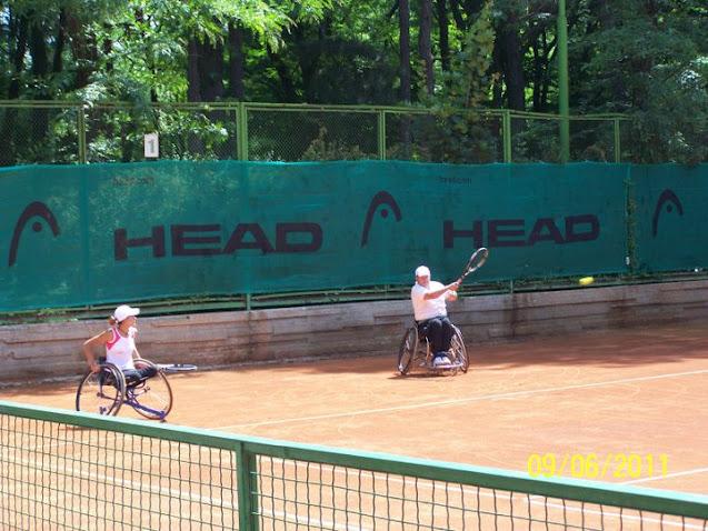 Зоя Веркова Чавдарова на тенис корта